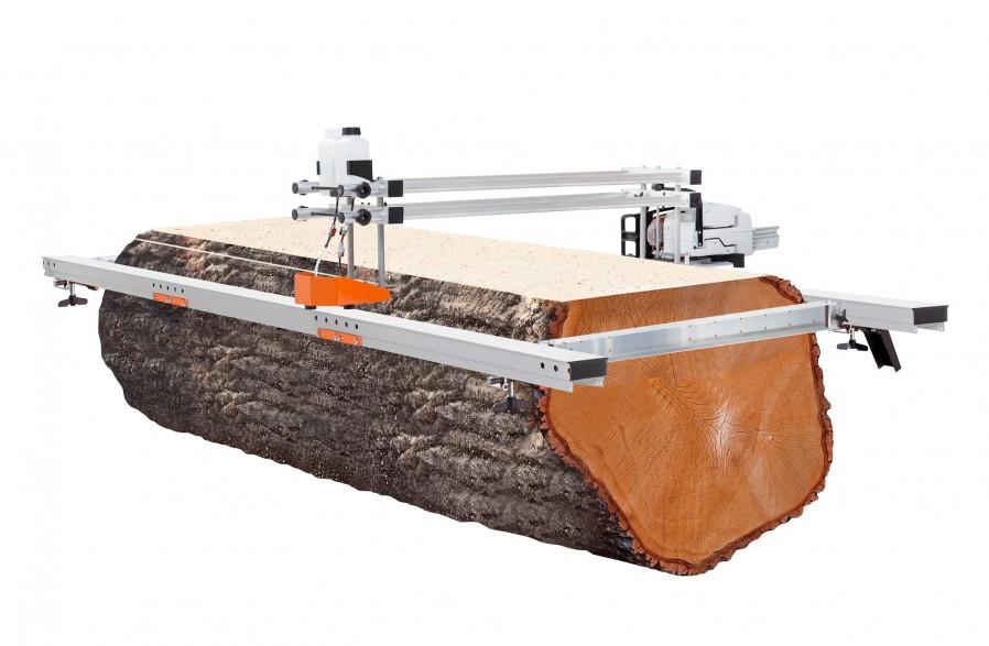 """Big Mill + kit de rail de guidage pour guide-chaînes de 66"""" (167 cm) (guide-chaîne et chaîne compris)"""
