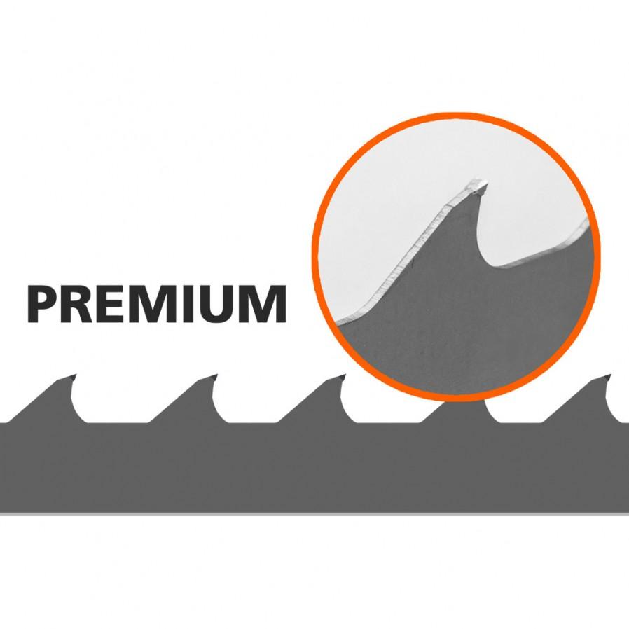 Lames, 1 pc, Logosol B751 (Premium), L: 3843 mm, W:34 mm
