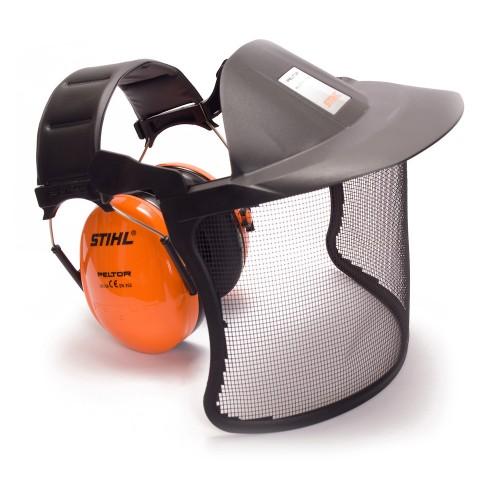 Protège-oreilles avec visière