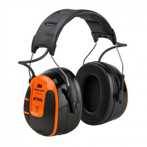 Protège-oreilles avec radio intégrée