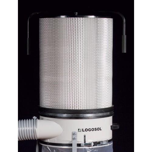 Filtre à poussière, pour aspirateur à copeaux 1,1 kW et 2,2 kW